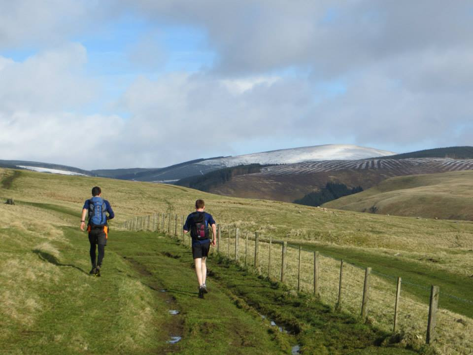 Running in the Cheviots